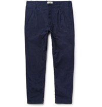 Folk The Assembly Cotton Ripstop Trousers Indigo