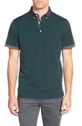 Ag Jeans Men's Ag Green Label 'The Deuce' Short Sleeve Polo Scots Pine