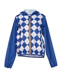 K Way Jackets Blue