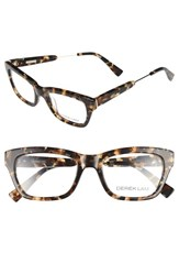 Derek Lam Women's 50Mm Optical Glasses Brown Marble