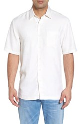 Kahala Sea Shells Classic Fit Sport Shirt Natural
