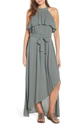 O'neill Misty Asymmetrical Dress Balsam Green
