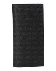Armani Jeans Wallets Black