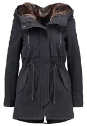 Only Petite Onlbarbara Parka Phantom Dark Grey