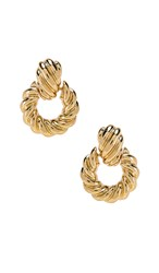 8 Other Reasons Rya Hoops In Metallic Gold.
