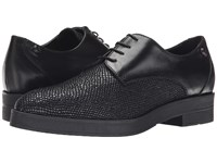 Love Moschino Leather Oxford Shoe Black