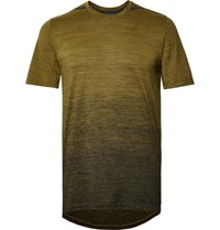 Nike Running Dri Fit T Shirt Army Green
