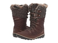 Columbia Heavenly Omni Heat Knit Tobacco Dark Mirage Women's Shoes Brown