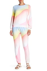 Wildfox Couture Galactic Knox Sweatpants Multi Colo
