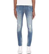 True Religion Tony Slim Fit Skinny Jeans Blue