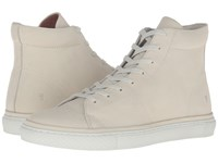 Frye Gates High Off White Soft Nubuck Men's Lace Up Casual Shoes