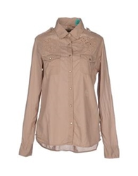 Replay Shirts Khaki
