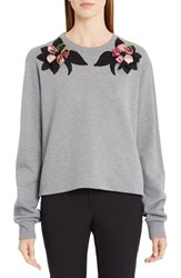 Dolce And Gabbana Women's Rose Embellished Sweatshirt