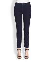 Piazza Sempione Laura Straight Leg Jeans Dark Blue
