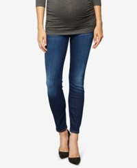 7 For All Mankind Maternity Dark Wash Skinny Jeans Duchess