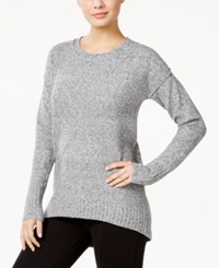 Calvin Klein Jeans Patterned Sweater Marl Grey