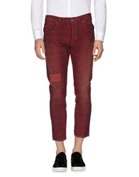 2W2m Casual Pants Red
