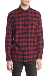 Men's Obey 'Raymond' Buffalo Check Woven Shirt