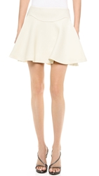 Jay Ahr Pleated Miniskirt White