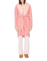 Ugg Heathered Fleece Trimmed Robe