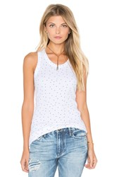 Stateside Rose Print Tank White