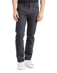 Levi's 513 Slim Straight Fit Jeans Stealth Grey