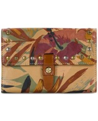 Patricia Nash Palm Leaves Colli Wallet Multi Gold