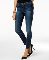 Guess Mid Rise Skinny Jeans Dark Wash