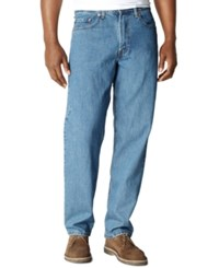 Levi's Big And Tall 550 Relaxed Fit Jeans Medium Stonewash