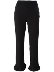 Opening Ceremony Flared Cropped Trousers Black