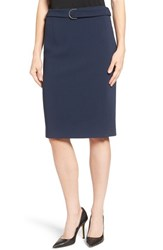 Emerson Rose Women's Belted Pencil Skirt