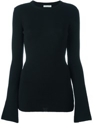 Each X Other Round Neck Jumper Black