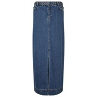 East Indigo Denim Maxi Skirt Indigo
