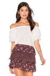 Ulla Johnson Leoda Top White