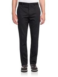 Fendi Cotton Pants Black