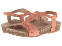 Aetrex Sandalista Melanie Adjustable Quarter Strap Dusty Orange Women's Sandals Multi