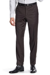 Ted Baker Jarret Olive Woven Suit Separates Wool Trouser Green