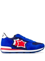 Atlantic Stars Star Patch Sneakers Blue