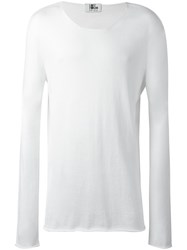 Lost And Found Ria Dunn Long Sleeve T Shirt White