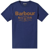 Barbour Cove Tee Blue