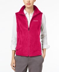 Columbia Benton Springs Fleece Vest Fuchsia