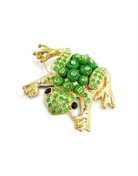 A Z Collection Az Green Frog Brooch