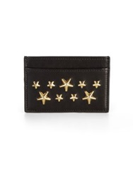 Jimmy Choo Dean Card Holder Black