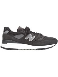 New Balance Lateral Patch Sneakers Black