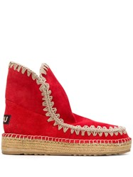 Mou Eskimo 18 Ankle Boots Red