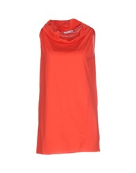 Lamberto Losani Topwear Tops Women Red