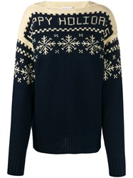 Etro Snowflake Patterned Knit Jumper 60
