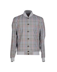 Siviglia Coats And Jackets Jackets Men Grey