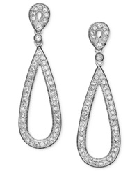 Eliot Danori Earrings Crystal Teardop