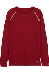 Banjo And Matilda Sloppy Jo Jo Cashmere Sweater Red